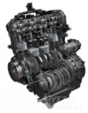 Động cơ của Suzuki GSX-S1000 2016 được thay đổi như nào?
