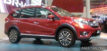 SUV 7 chỗ BR-V của Honda có giá từ 16.600 USD