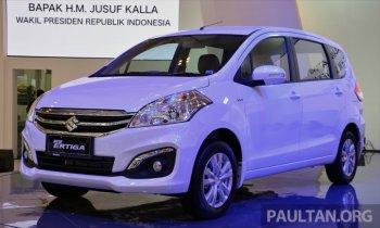 Suzuki Ertiga 2015 chính thức ra mắt
