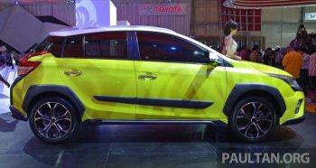 Toyota phát triển Yaris SUV cỡ nhỏ và mui trần