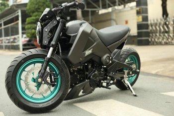 """Bản độ Honda MSX125 """"cứng"""" của chàng trai Sài Gòn"""