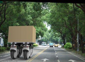 Xe container sẽ trở nên vô dụng?