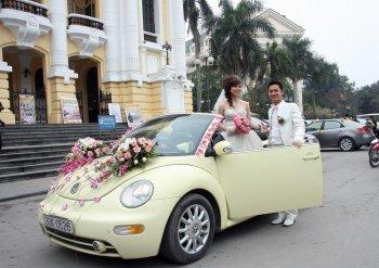 Bí quyết thuê xe cưới ưng ý