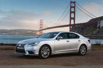 Lexus LS chạy pin nhiên liệu sắp ra mắt