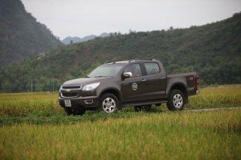 Chevrolet Colorado bán tải chất Mỹ