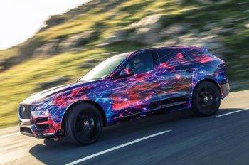 Jaguar tung clip hậu kì SUV mới F-Pace