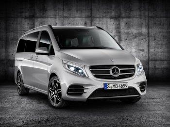 Mercedes-Benz V-Class cá tính hóa với gói AMG Line