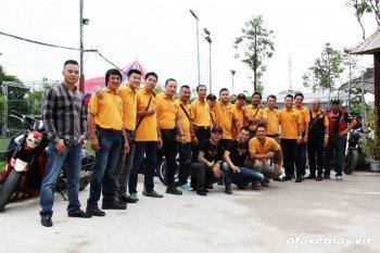 Xe PKL tụ hội mừng CLB Mô tô Thể thao Hà Nội tròn 53 năm tuổi