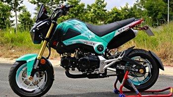 Honda MSX 125 phong cách game Liên Minh Huyền Thoại