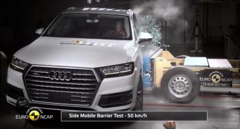 Audi Q7 2016 được NCAP châu Âu xếp hạng an toàn nhất phân khúc