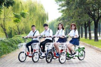 5 mẫu xe đạp điện giá mềm cho học sinh