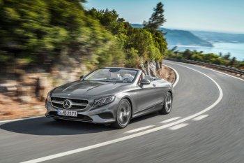 S-Class Cabriolet 2017: Mercedes-Benz tìm lại ánh hào quang