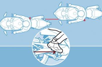 Cứu hộ xe máy an toàn bằng dây