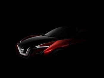 Concept crossover mới của Nissan bắt đầu được tiết lộ