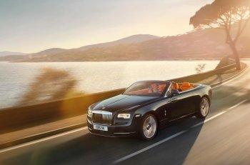 Rolls-Royce Dawn chính thức ra mắt thế giới