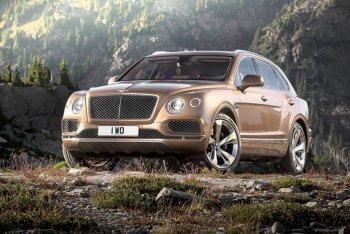 SUV mạnh nhất thế giới Bentley Bentayga chính thức ra mắt