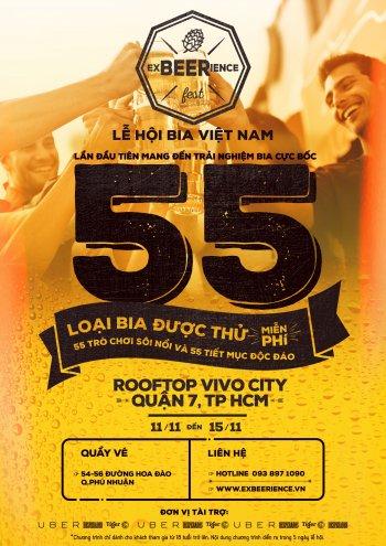 Dân mê xe đổ về Sài Gòn dự lễ hội uống 55 loại bia