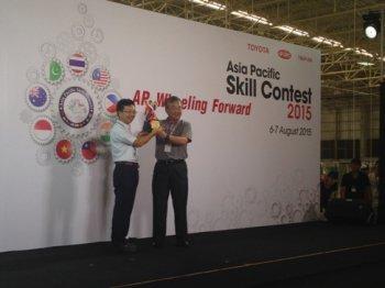 """Toyota Việt Nam có """"vàng"""" tại Hội thi tay nghề"""