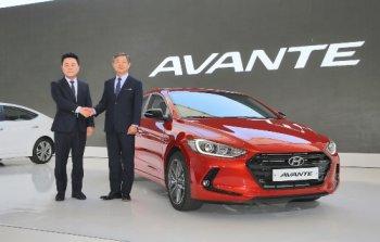 Hyundai Elantra/Avante hoàn toàn mới ra mắt tại Hàn Quốc