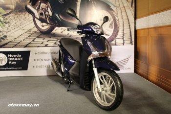 Honda SH đời mới thêm khoá an toàn có giá từ 66,99 triệu đồng