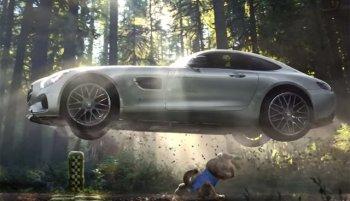 Mercedes-Benz kể chuyện Rùa và Thỏ