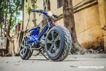"""Honda Cub siêu """"dị"""" của xưởng độ Hà Thành"""