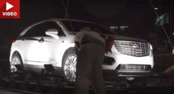 Màn ra mắt trên không táo bạo của xế sang Cadillac XT5