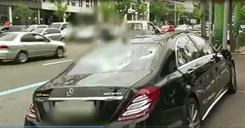 Xót ruột xem Mercedes-Benz S63 AMG bị đập vỡ tơi tả