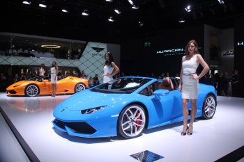 IAA 2015: Huracan LP 610-4 Spyder – sao sáng của Lamborghini