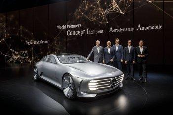IAA 2015: Mercedes-Benz Concept IAA tối ưu khí động học