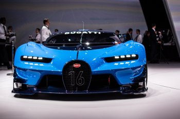 IAA 2015: Bugatti Vision Gran Turismo – siêu phẩm bước ra từ game