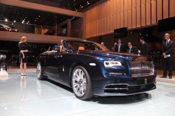 IAA 2015: Xem chi tiết Rolls-Royce Dawn tại triển lãm Frankfurt
