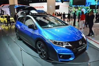 IAA 2015: Honda giới thiệu Civic Tourer Active Life tiện dụng