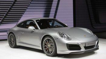 IAA 2015: Porsche 911 Carrera mới mạnh mẽ và tiêu thụ nhiên liệu tiết kiệm hơn