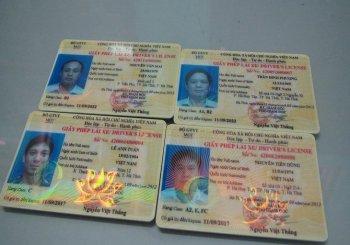 Xin cấp lại giấy phép lái xe bị mất như thế nào?