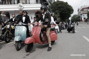 Ngày hội quý ông Distinguished Gentleman's Ride lần đầu tại Hà Nội
