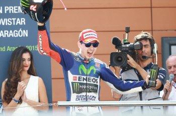 Chặng 14 MotoGP 2015: Jorge Lorenzo nhẹ nhàng cán đích đầu tiên