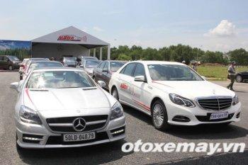 Mercedes-Benz khởi động khóa học lái xe an toàn tại Sài Gòn