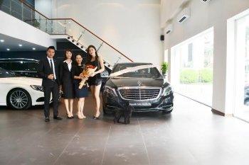 """Á Hậu Huyền My nâng hạng """"xế"""" yêu lên Mercedes-Benz S400L"""