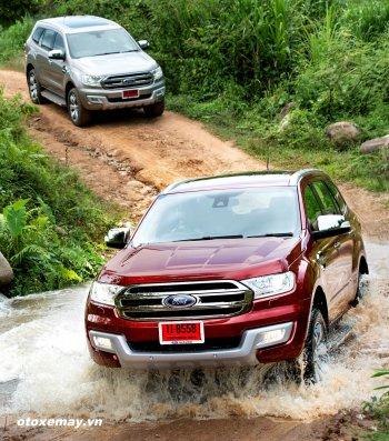 """24h """"khám"""" Ford Everest ở Chiang Rai"""