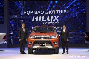 Toyota Hilux 2016 được bán với giá từ 693 triệu đồng