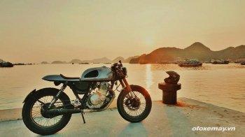 Phá cách với café racer của rocker Việt