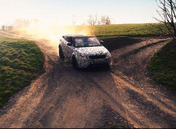 Range Rover Convertible phô diễn khả năng off-road