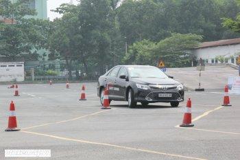 Toyota huấn luyện kỹ năng lái xe tại TP.HCM