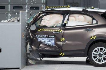 Fiat 500X đạt chuẩn an toàn cao nhất của IIHS