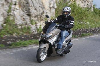 Yamaha NM-X: chiếc xe ga đường trường trẻ