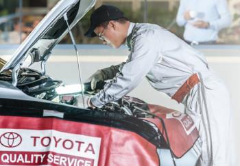 Toyota Việt Nam hỗ trợ 50% tiền dầu máy cho khách
