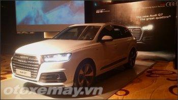 VIMS 2015: Audi Q7 mới ra mắt ngay trước triển lãm