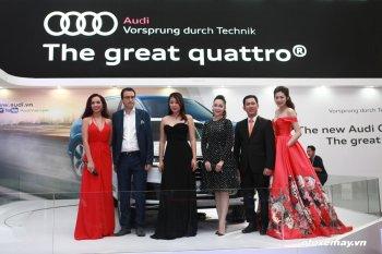 VIMS 2015: Tâm điểm từ mẫu SUV Audi Q7 Q3