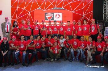 VIMS 2015: D.O.C Miền Bắc chính thức nhập hội Ducatisti thế giới